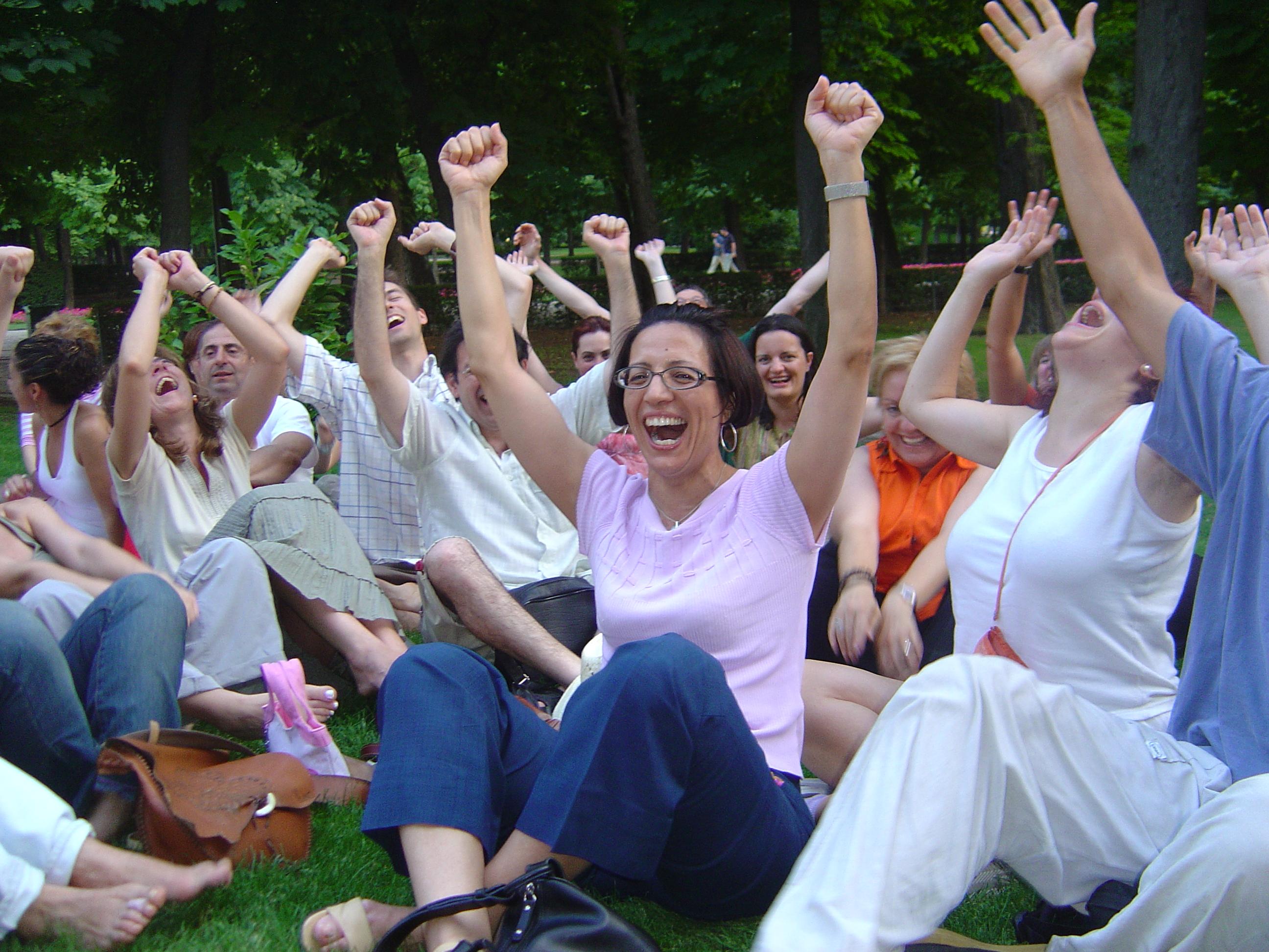 Yoga della Risata. In Love!